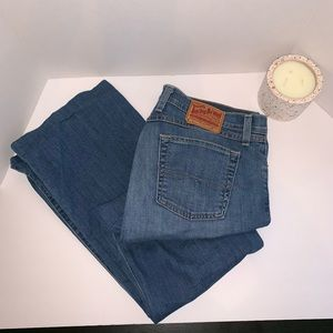 """Lucky Brand Jeans Size 14X32 Hemmed to 30"""""""